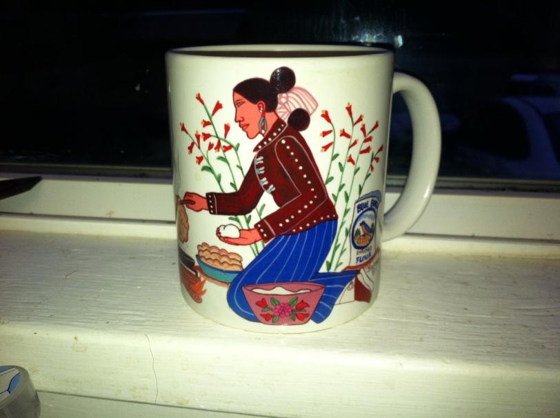 Gramah'shani coffee cup